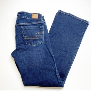 American Eagle Favorite Boyfriend Blue Denim Jeans
